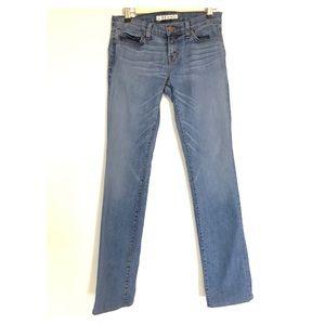 J Brand Jeans Cigarette Leg Skinny Light Wash